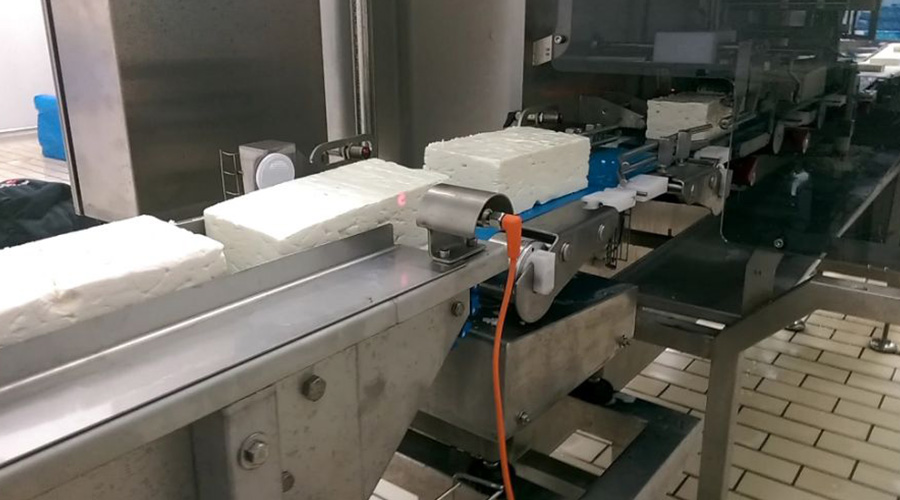 AUTOMATIC CHEESE CUTTING MACHINE