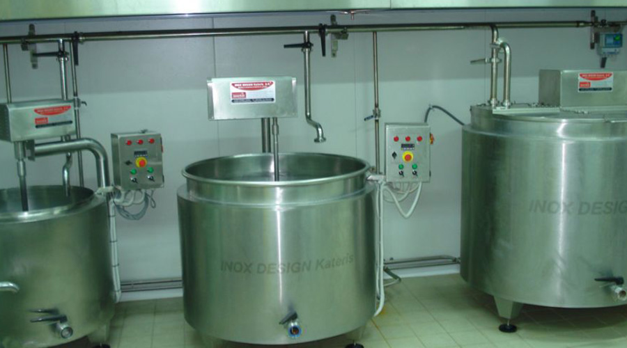 MILK BOILERS MACHINE