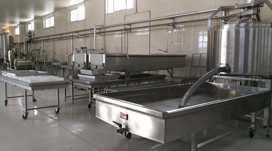 PRODUCTION LINE CHEESE - YOGURT - MILK - BUTTER